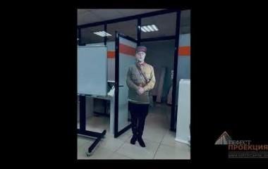 Запись Виртуального промоутера для Музея Боевой славы