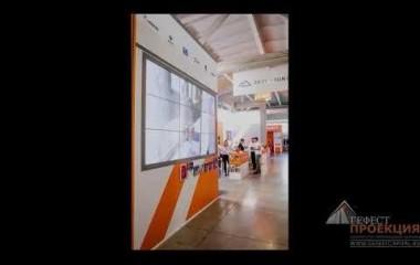 Бесшовная видеостена Orion из 9 панелей для компании «Sever Minerals»