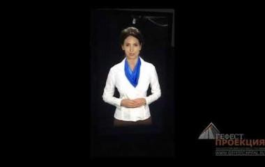 Съемка виртуального промоутера для АО «РостерминалУголь».