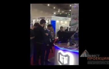 Компания Гефест Проекция РТ предоставила в аренду голографический