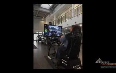 Компания «Гефест Проекция РТ» предоставила в аренду 2 гоночных симулятора