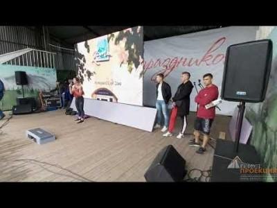 Аренда светодиодного уличного экрана на Семейный фитнес фестиваль