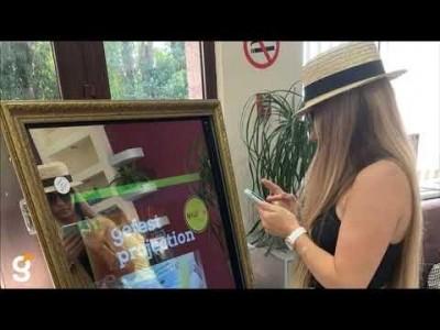 """Компания Гефест Проекция г. Сочи предоставила селфи-зеркало на """"День семьи"""""""